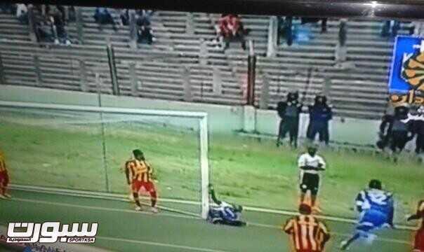 لقطة الهدف الصورة من tv السودان