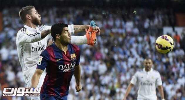 برشلونة و ريال مدريد الدوري الاسباني