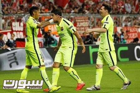 الثلاثي الخطير لبرشلونة في حالة تألق غير قابلة للإيقاف