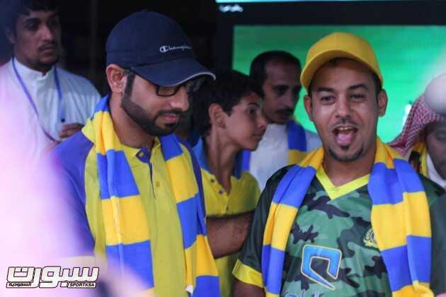 المدرب هلال الرفاعي مع مدرب المنتخب للشباب سعد الشهري
