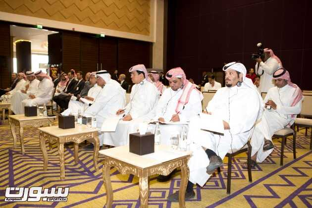 جانب من الحضور الاعلامي في المؤتمر