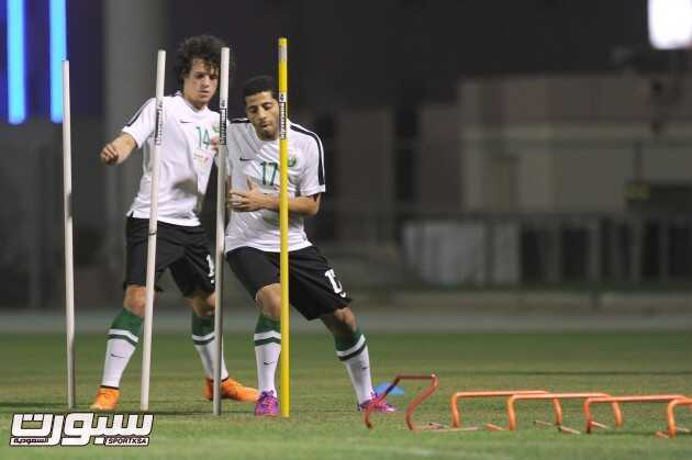 تدريبات المنتخب السعودي (6) 