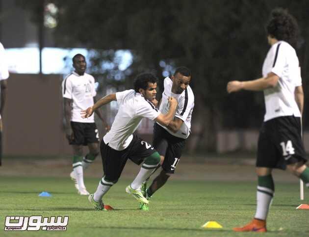 تدريبات المنتخب السعودي (8) 