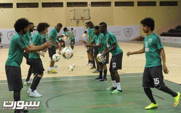 تدريبات المنتخب السعودي (4) 