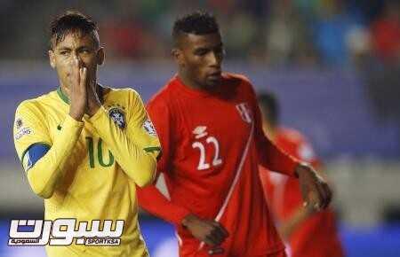 البرازيل تتفوق على بيرو وتواصل انتصاراتها