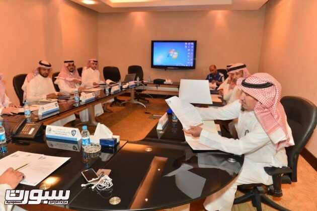 اجتماع ادارة الهلال (1)