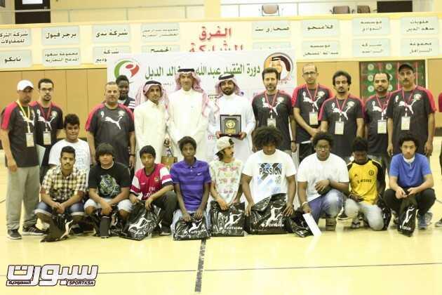 جماعية للجنة الدورة مع طلاب مركز الامير سلطان