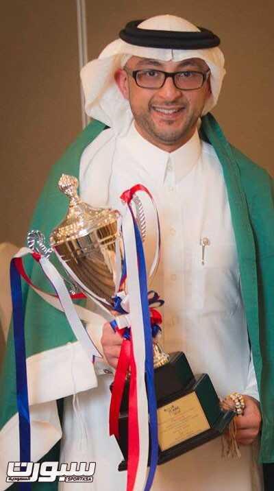 نائب رئيس الاتحاد السعودي لرفع الاثقال احمد غدران