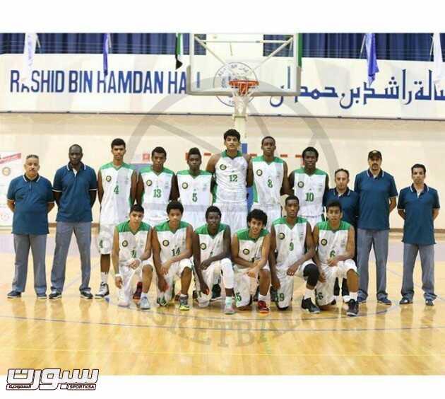 صورة جماعية للاعبي المنتخب السعودي