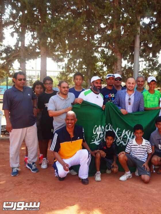 اخضر التنس ينتزع كأس العرب 2