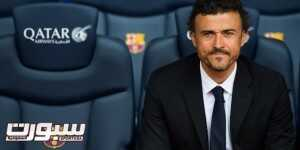 BARCELONA, SPAIN - MAY 21: Luis Enrique Martinez poses for the media during his official presentation as the new coach of FC Barcelona at Camp Nou on May 21, 2014 in Barcelona, Spain. (Photo by Alex Caparros/Getty Images)