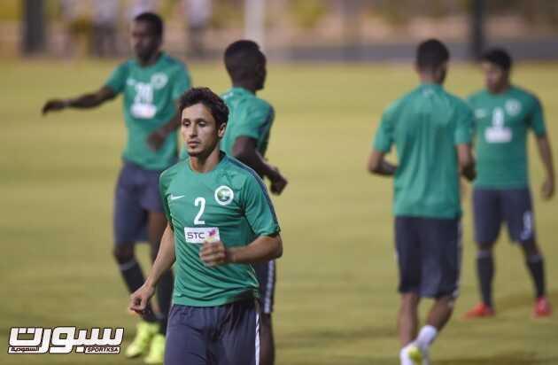 تدريبات المنتخب السعودي الاول (1) 