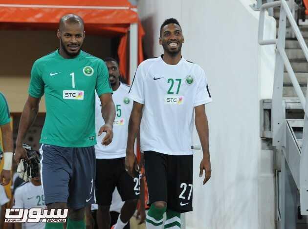 تدريبات المنتخب السعودي (1) 