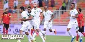 منتخب السعودية و تيمور (1)