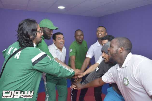 المنتخب السعودي للكاراتيه في المعسكر التدريبي -(1)- --
