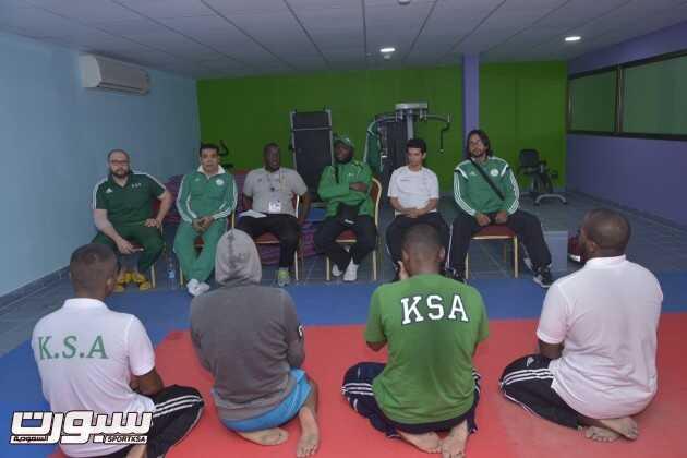 المنتخب السعودي للكاراتيه في المعسكر التدريبي -(1)-