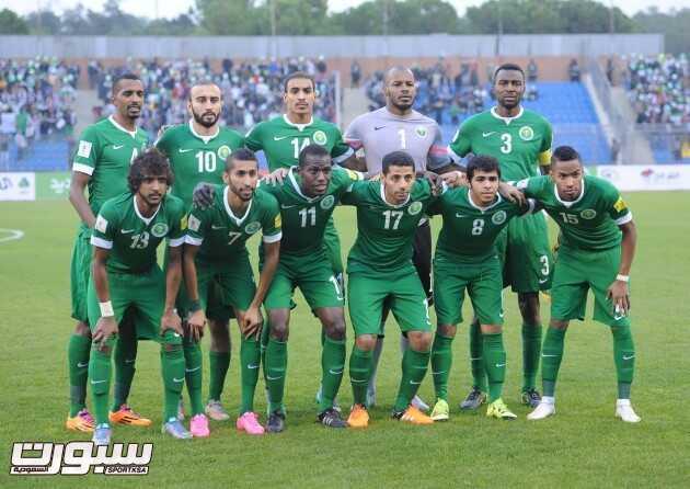 المنتخب السعودي جماعية
