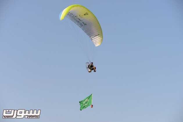 انطلاق اول كأس بطولة سعودية للباراموتر