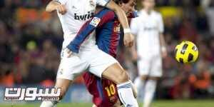 Lionel Messi / Cristiano Ronaldo - 29.11.2010 - Barcelone / Real Madrid - 13e journee Liga Photo : Photoshot / Icon Sport  *** Local Caption ***