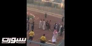 فيديو..لاعب يتعرض للطعن في وادي الدواسر