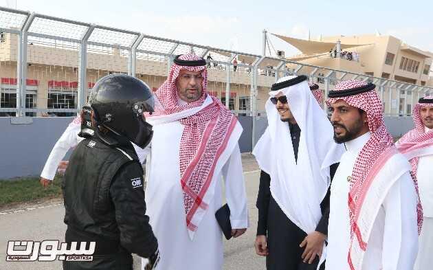 جولة ميدانية برفقة رئيس الاتحاد والأمين نايف الحجيلان