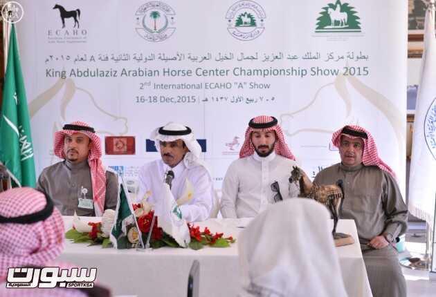 327 جوادًا تتنافس على بطولة الخيل العربية غداً بديراب