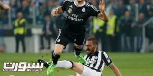 Football - Juventus v Real Madrid - UEFA Champions League Semi Final First Leg - Juventus Stadium, Turin, Italy - 5/5/15 Juventus's Leonardo Bonucci in action with Real Madrid's Gareth Bale Reuters / Sergio Perez