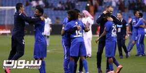 تتويج فرحة فريق الهلال كأس ولي العهد (1)