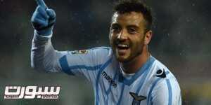 TURIN, ITALY - MARCH 16:  Felipe Anderson of SS Lazio celebrates after scoring his second goal during the Serie A match between Torino FC and SS Lazio at Stadio Olimpico di Torino on March 16, 2015 in Turin, Italy.  (Photo by Valerio Pennicino/Getty Images)