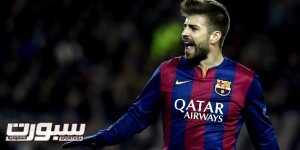 Barcelona's defender Gerard Pique gestures during the UEFA Champions League round of 16 football match FC Barcelona vs Manchester City at the Camp Nou stadium in Barcelona on March 18, 2015.   AFP PHOTO / LLUIS GENE        (Photo credit should read LLUIS GENE/AFP/Getty Images)