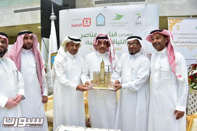 نجوم العصر الذهبي للكرة السعودية في المعرض