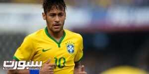 SAO PAULO, BRAZIL - JUNE 06:  Neymar  of Brazil in action during the International Friendly Match between Brazil and Serbia at Morumbi Stadium on June 06, 2014 in Sao Paulo, Brazil.  (Photo by Buda Mendes/Getty Images)