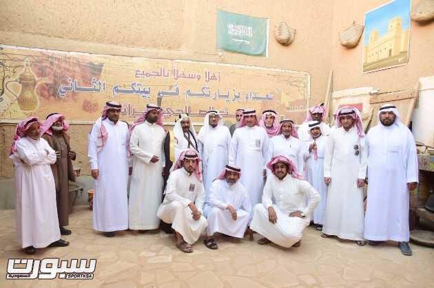 بيت الصالحي مستقبلا عدد من الضيوف