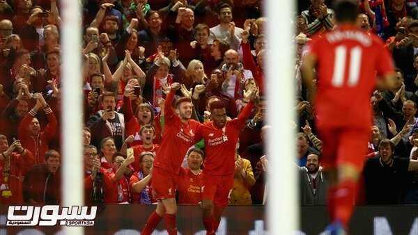فرحة فريق ليفربول