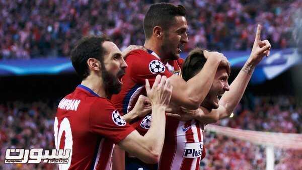 فرحة فريق اتلتيكو مدريد (444087429) 