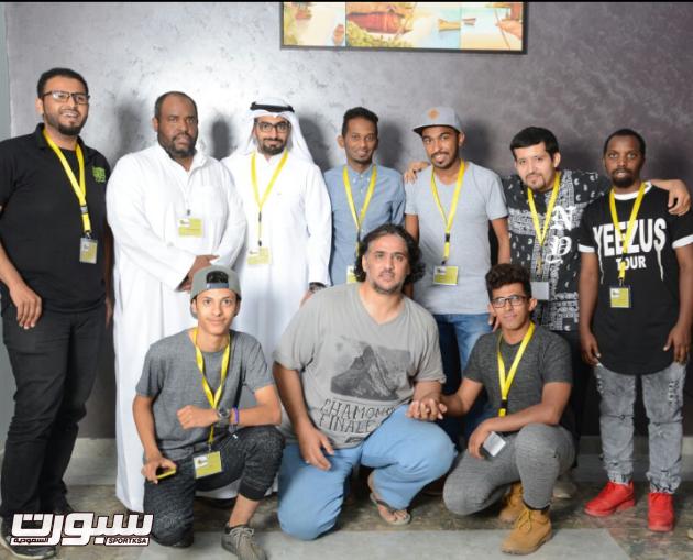 صورة جماعية لرابطة السعودية لرياضة التزلج