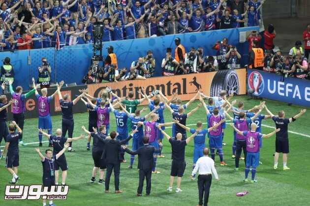 صور من لقاء انجلترا وآيسلندا – يورو 2016