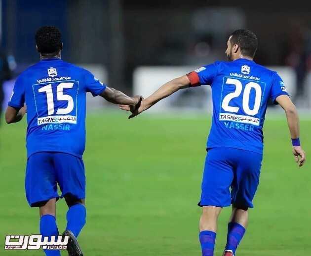 ناصر الشمراني و ياسر القحطاني