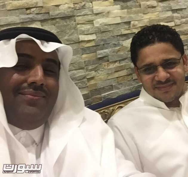الاعلامي : محمد محنشي مع الكابتن خالد قهوجي