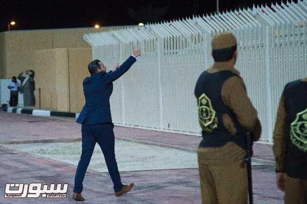 """لقطات حصرية من لقاء الرائد والفيصلي """"البياوي مع الجمهور"""" ( عدسة محمد الحصين )"""