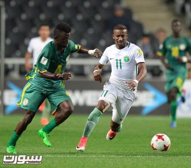 صور من لقاء المنتخب السعودي أمام السنغال – كأس العالم للشباب