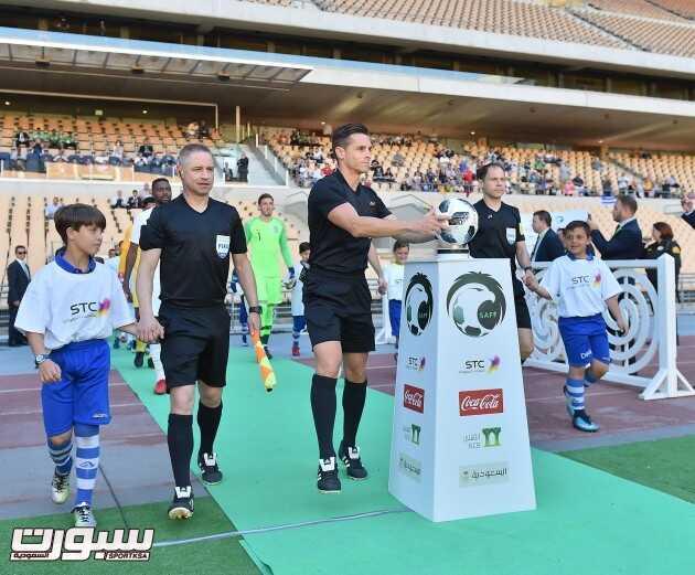 صور من لقاء المنتخب السعودي امام اليونان – مباراة ودية