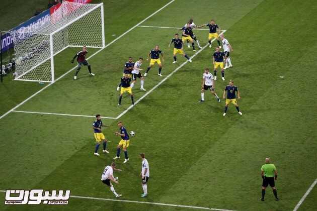 صور من لقاء المانيا والسويد – مونديال كأس العالم