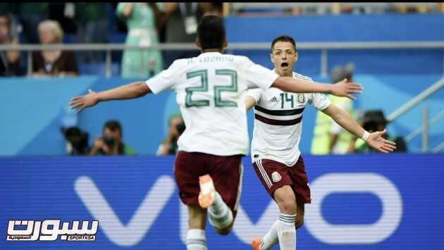 صور من لقاء المكسيك و كوريا الجنوبية – مونديال كأس العالم