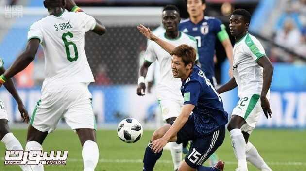 صور من لقاء اليابان والسنغال – مونديال كأس العالم