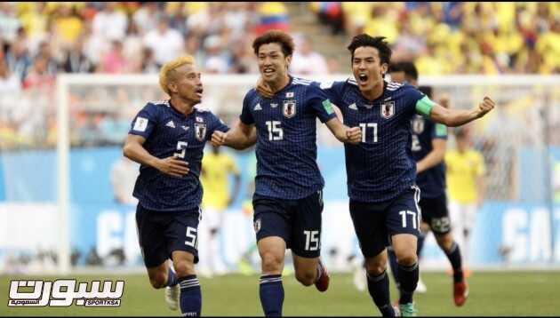 صور من لقاء اليابان و كولومبيا – مونديال كأس العالم
