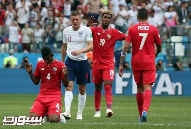 صور من لقاء انجلترا وبنما – مونديال كأس العالم
