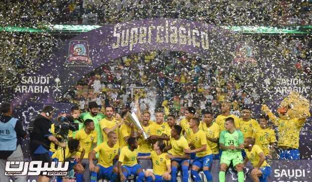 تغطية لقاء الارجنتين والبرازيل – بطولة سوبر كلاسيكو الودية ( عدسة خالد السفياني )