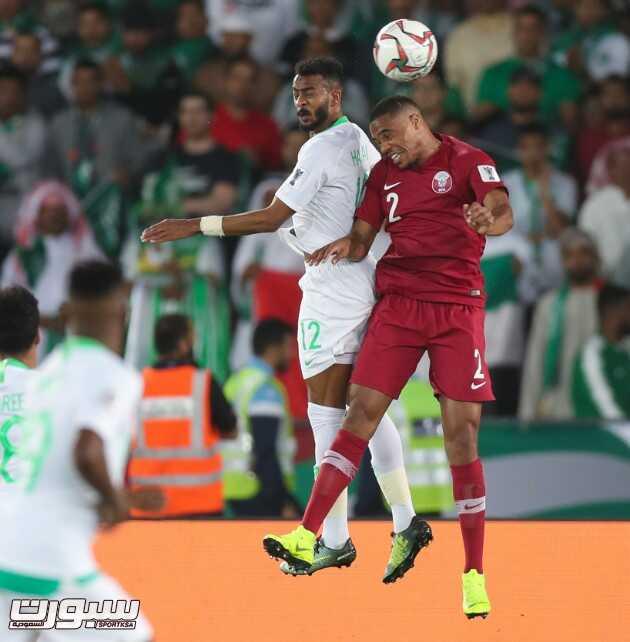 صور من لقاء السعودية و قطر – كأس آسيا 2019