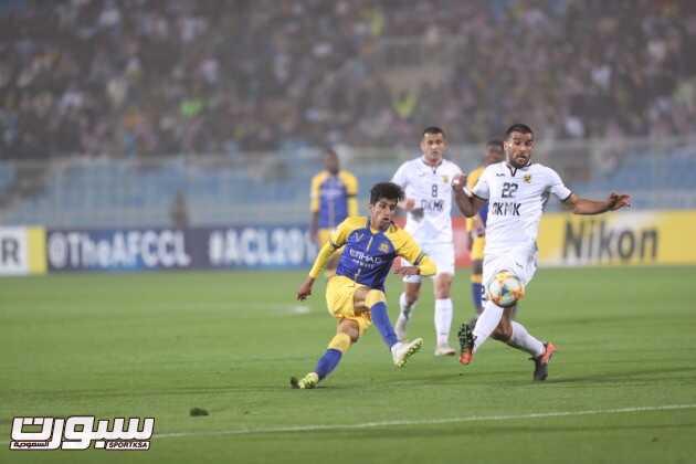 تغطية لقاء النصر و أجمك الاوزبكي – دوري أبطال آسيا ( عدسة محمد المسعري )